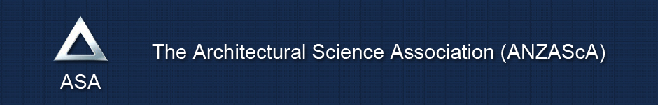 The Architectural Science Association